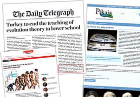 Dünya basınında Adnan Oktar evrim teorisine karşı yürüttüğü mücadeleyi kazandı haberleri - Harunyahya.web.tr