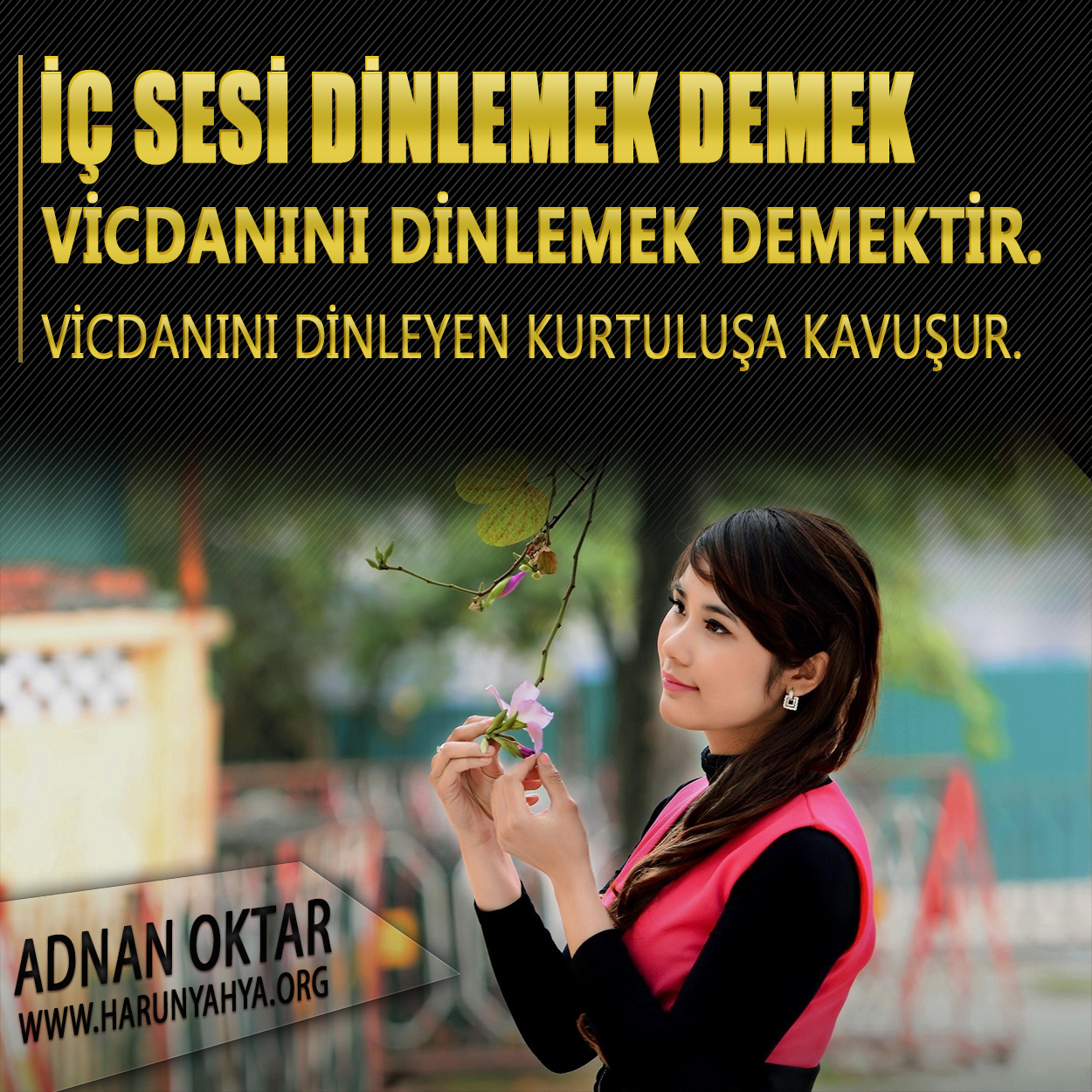 """<table style=""""width: 100%;""""><tr><td style=""""vertical-align: middle;"""">İç sesi dinlemek demek vicdanını dinlemek demektir. Vicdanını dinleyen kurtuluşa kavuşur.</td><td style=""""max-width: 70px;vertical-align: middle;""""> <a href=""""/downloadquote.php?filename=1503135880265.jpg""""><img class=""""hoversaturate"""" height=""""20px"""" src=""""/assets/images/download-iconu.png"""" style=""""width: 48px; height: 48px;"""" title=""""Resmi İndir""""/></a></td></tr></table>"""