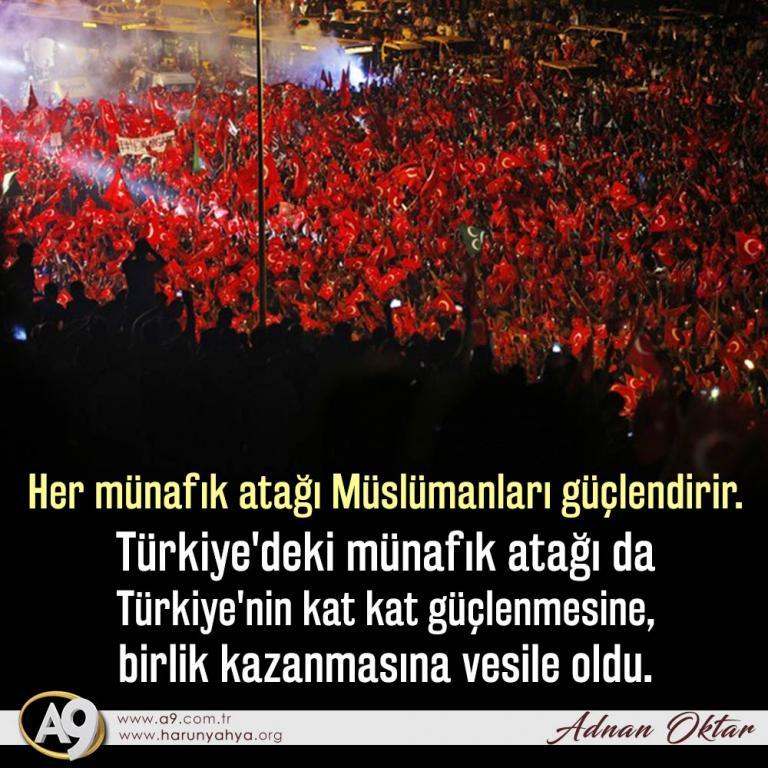 """<table style=""""width: 100%;""""><tr><td style=""""vertical-align: middle;"""">Her münafık atağı Müslümanları güçlendirir. Türkiye""""deki münafık atağı da Türkiye""""nin kat kat güçlenmesine, birlik kazanmasına vesile oldu.</td><td style=""""max-width: 70px;vertical-align: middle;""""> <a href=""""/downloadquote.php?filename=quoteofday_14727718377061.jpg""""><img class=""""hoversaturate"""" height=""""20px"""" src=""""/assets/images/download-iconu.png"""" style=""""width: 48px; height: 48px;"""" title=""""Resmi İndir""""/></a></td></tr></table>"""