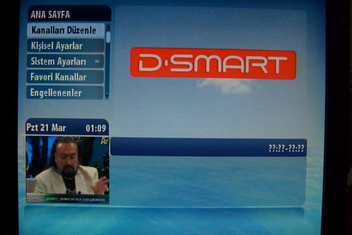 D-Smart A9 kanal ayarları